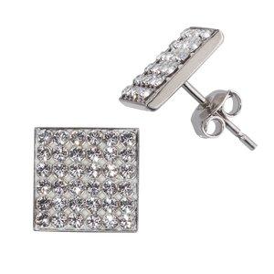 Pendientes Plata 925 cristales de Swarovski