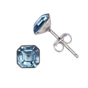 Ear studs Silver 925 Swarovski crystal