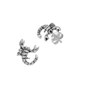 Earrings Silver 925 Scorpion