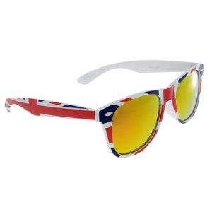 Sonnenbrille Acrylglas Streifen Rillen Linien