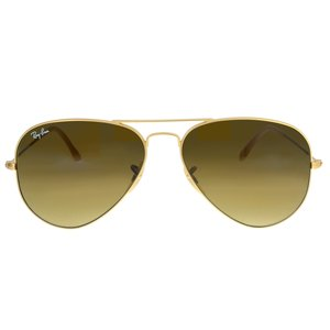 RAY BAN Zonnebril Messing Acryl Goud-laagje (verguld)