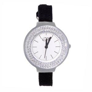 EraOra Reloj Acero fino Cristal mineral Cristal Microfibra