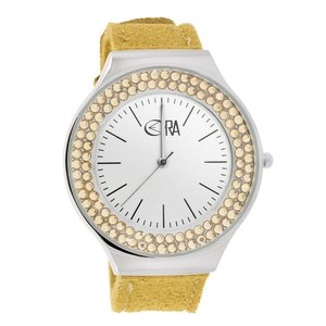 EraOra Watch Stainless Steel Mineral glass Crystal Microfiber