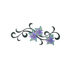 Fake-Tattoo Dessin_tribal Motif_tribal Fleur
