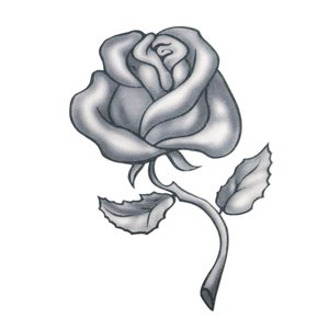 Fake Tattoo Rose