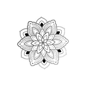 Fake-Tattoo Fleur Feuille Motif_floral