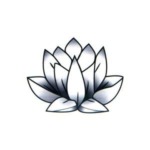 fake-tattoo bloem blad blaadje plantpatroon