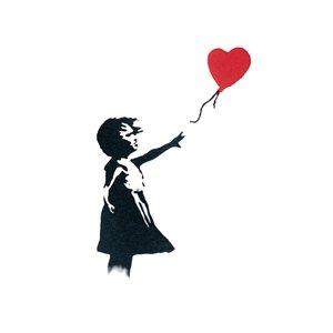 Fake-Tattoo Herz Liebe