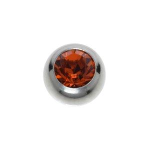 Piercing Titanium Swarovski crystal