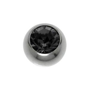 Piercing Titanio cristales de Swarovski