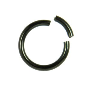 Piercing Titanium Black PVD-coating