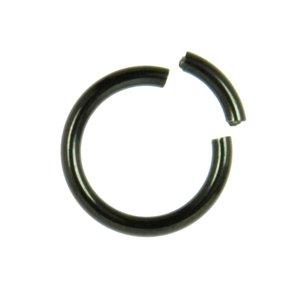 Piercing Titanio Revestimiento PVD (negro)