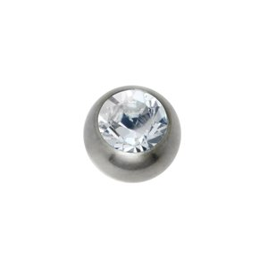 1.2mm Titanium piercing part Titanium Crystal
