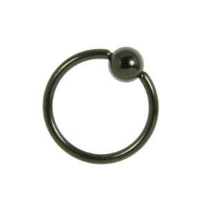 1.2mm Titanio Revestimiento PVD (negro)