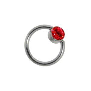 1.2mm Titane élément de piercing Titane Zircon