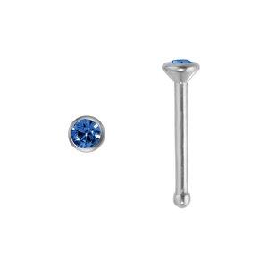 neuspiercing Titanium Swarovski kristal