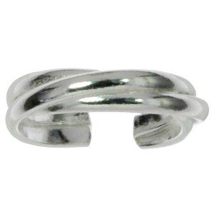 Toering Silver 925 Eternal Loop Eternity