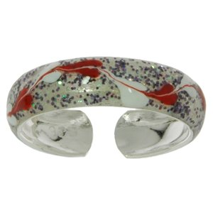 Toering Silver 925 Enamel Wave Heart Love
