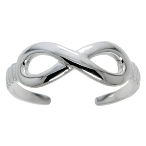 Toering Silver 925 Eternal Loop Eternity