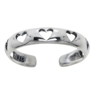 Toering Silver 925 Heart Love