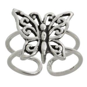Anello piede Argento 925 Farfalla