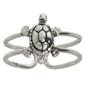 Toering Silver 925 Turtle Tortoise