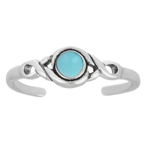 Toering Silver 925 Turquoise