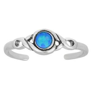 Anello piede Argento 925 Opale