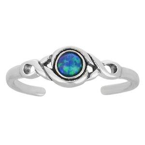 Toering Silver 925 Opal