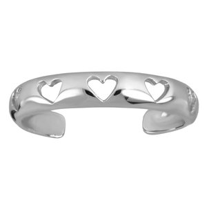 Toering Stainless Steel Heart Love