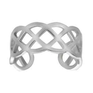 Toering Stainless Steel Eternal Loop Eternity