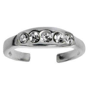 Toering Silver 925 Crystal