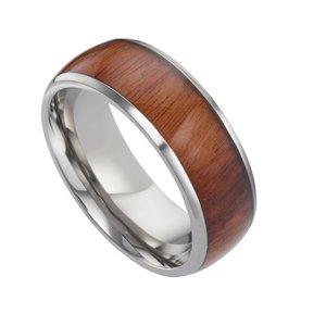 Titanring Titan Holz Epoxiharz