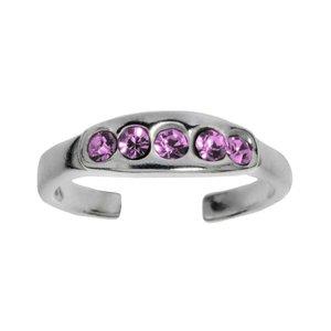 ring Zilver 925 Kristal