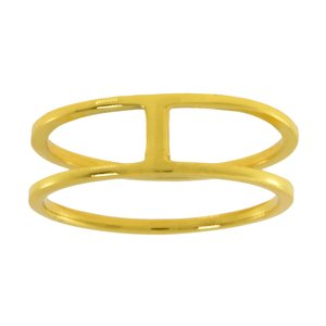 Fingerring Silver 925 Gold-plated