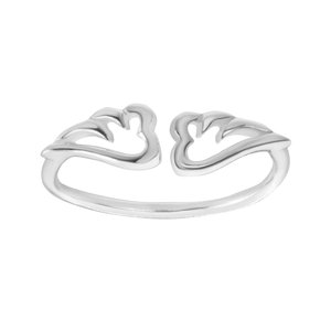 Fingerring Silver 925 Wings