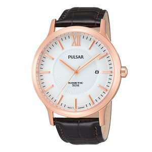 PULSAR Watch Stainless Steel Mineral glass Leather Fur Fur_pattern Animal_Print