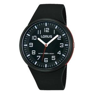 LORUS Uhr Edelstahl Kunststoff Acrylglas Silikon