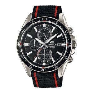 CASIO EDIFICE Reloj Acero fino Cristal mineral Textil