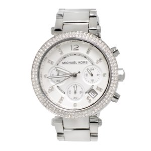 Michael Kors Watch Stainless Steel Mineral glass Crystal