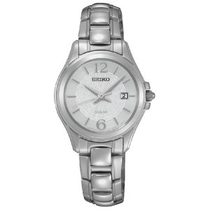 SEIKO  Stainless Steel Mineral glass