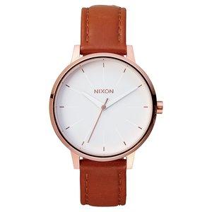 NIXON Reloj Acero fino Cristal mineral Cuero