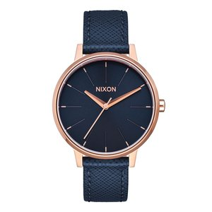 NIXON Watch Stainless Steel Mineral glass Leather