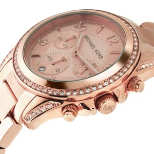 Michael Kors  Stainless Steel Mineral glass zirconia