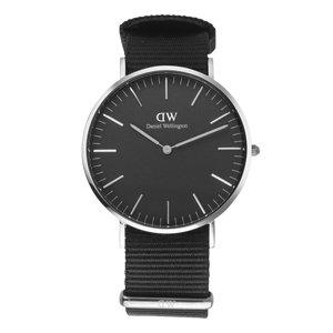 Daniel Wellington Reloj Acero fino Cristal mineral Textil