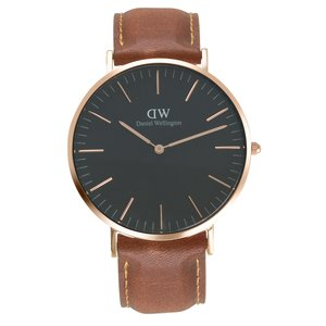 Daniel Wellington  Stainless Steel Mineral glass Leather