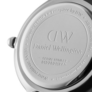 Daniel Wellington Watch Stainless Steel Mineral glass Leather