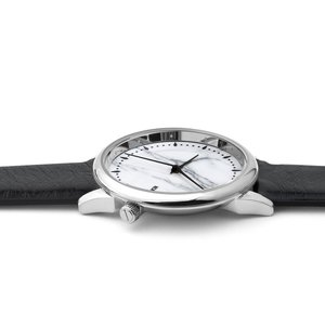 KOMONO Watch Stainless Steel Mineral glass Leather