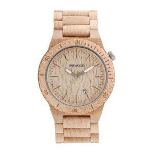 WEWOOD Uhr aus Holz und Edelstahl. Breite:45mm. Tiefe:11mm. Länge:22cm. Gewicht:60g. Holz Edelstahl
