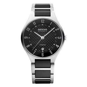 BERING Reloj Titanio Cristal de zafiro Acero fino